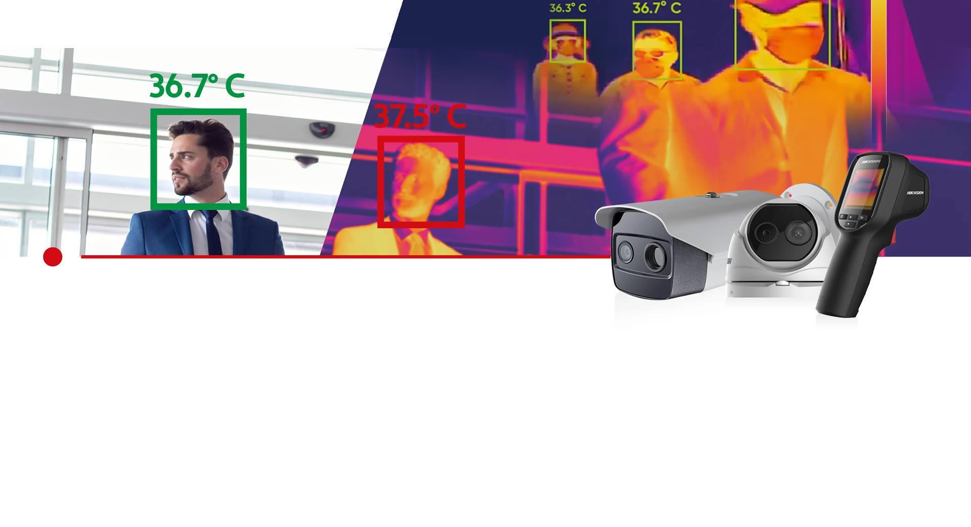 Càmeres de detecció tèrmica de febre